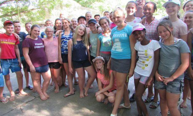 Graad 8-kamp: Foto-fees DAG 1