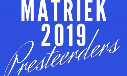 MATRIEKUITSLAE 2019 – trots Oosterlig